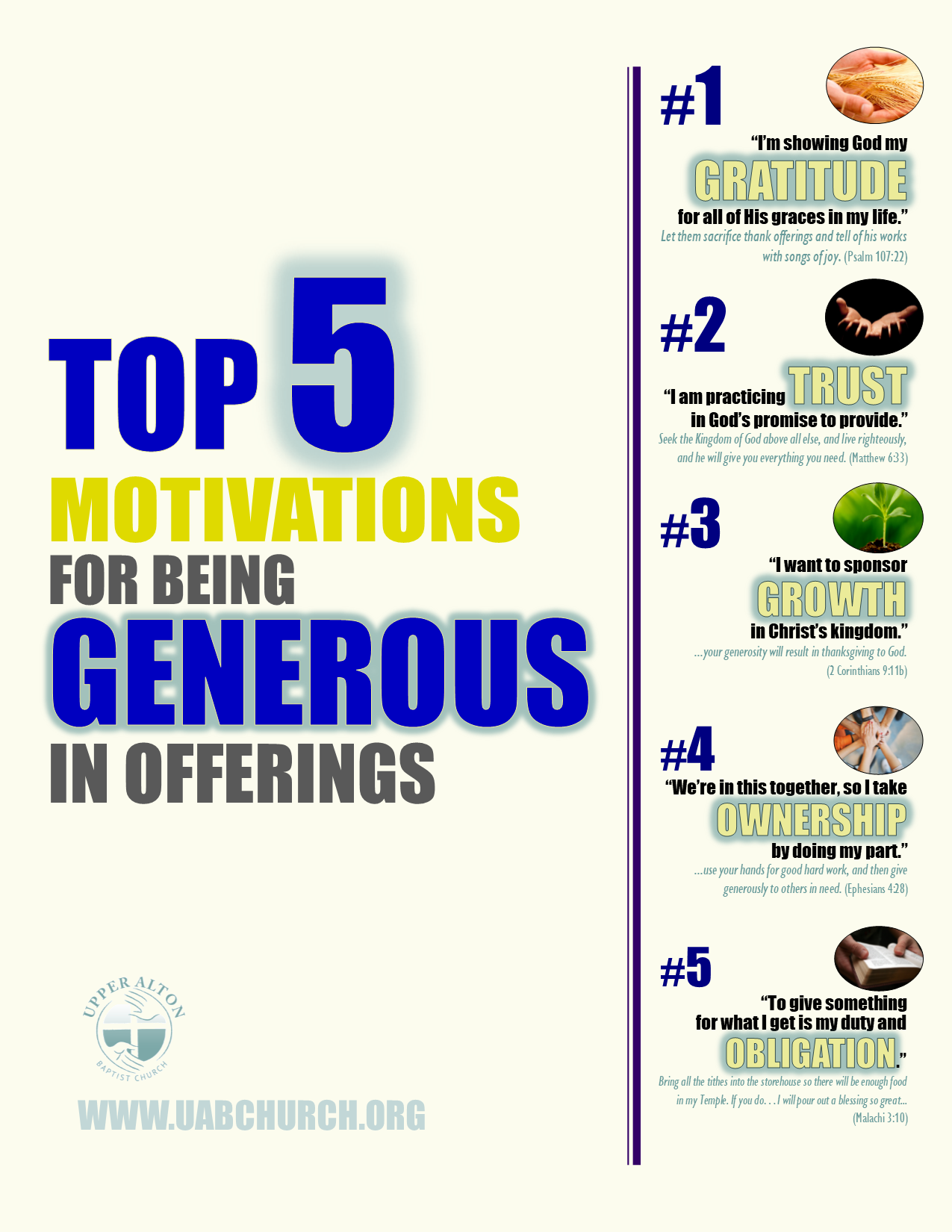 5 motivations